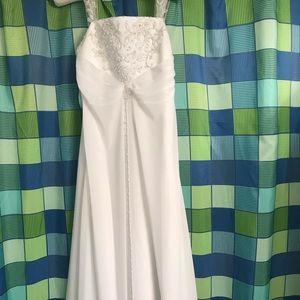 David's Bridal Evening Gown